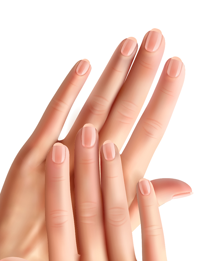 シリカを摂ると健康的な爪になります